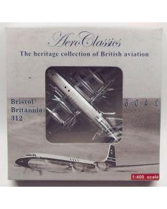 AeroClassics BOAC Britannia 312 'G-AOVB' 1/400 Scale Diecast Model