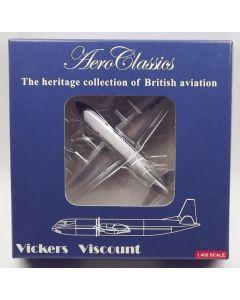 AeroClassics  Bahamas Airways Viscount 702 'VP-BCD' 1/400 Scale Diecast Model