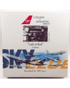 Dragon Wings Virgin Atlantic Airways A340-311 'Lady in Red' 1/400 Scale Model