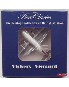 AeroClassics Virgin Atlantic Airways Viscount 802 'G-AOYP' 1/400 Scale Model