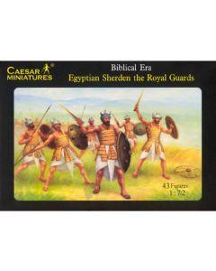 Caesar Miniatures H050 Egyptian Sherden Royal Guards 1/72 Scale Plastic Figures