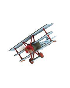 Corgi AA38307 Fokker Dr. I Triplane Eberhardt Mohnike 1/48 Scale Diecast Model