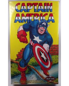 Polar Lights 4104 Captain America Scale Plastic Model Kit