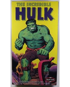 Polar Lights 4101 The Incredible Hulk Scale Plastic Model Kit Open Box