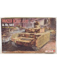 DML 6022 Panzer IV Ausf J 1/35 Scale Plastic Model Kit