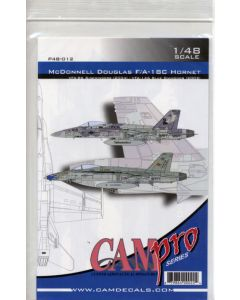 Cam Pro P48-012 F/A-18C Hornet VFA-86 & VFA-146 1/48 Scale Model Kit Decals