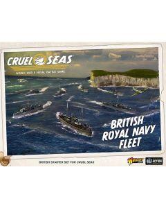 Cruel Seas British Royal Navy with Ships, Aircraft, Cards & Markers