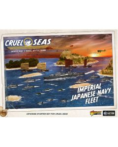 Cruel Seas Japanese Fleet with Ships, Aircraft, Cards & Markers