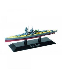 DeAgostini 03 German Heavy Cruiser Admiral Graf Spee 1936 1/1250 Scale Model