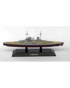 DeAgostini 39 German Battlecruiser Luetzow 1915 1/1250 Scale Diecast Model Ship