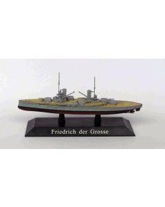 DeAgostini 41 German Battleship Friedrich der Grosse 1912 1/1250 Scale Model