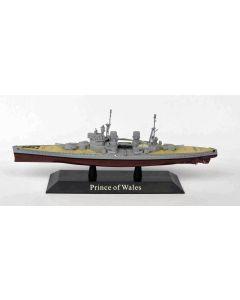 DeAgostini 70 British Battleship Prince of Wales 1941 1/1250 Scale Model Ship