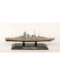 DeAgostini 16 German Heavy Cruiser Admiral Hipper 1937 1/1250 Scale Model Ship