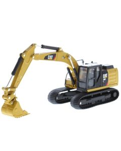 Diecast Masters 85636 Cat 320F L Hydraulic Excavator with 5 New Work Tools
