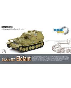Dragon Armor 60355 Elefant 3./s.Pz.Jg.Abt.653 Poland 1944 1/72 Scale Model