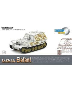 Dragon Armor 60356 Elefant s.Pz.Jg.Abt.614 Poland 1944 1/72 Scale Model