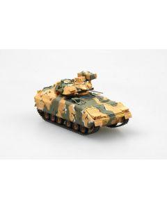 Easy Model 35052 M2 Bradley IFV Desert Camouflage 1/72 Scale Model