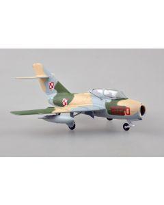 Easy Model 37139 Polish Mikoyan-Gurevich MiG-15UTI 1/72 Scale Model