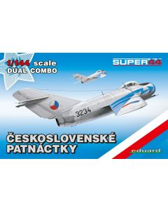 Eduard 4441 MiG-15/15bis 'Dual Combo' 1/144 Scale Plastic Model Kits