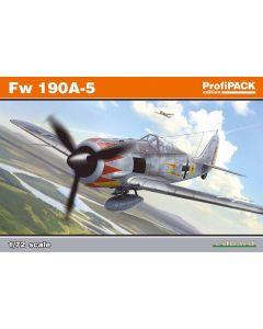 Eduard 70116 WWII German Fw190A5 'Profi-Pack' 1/72 Scale Plastic Model Kit