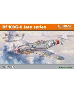Eduard 82111 Bf109G6 Late Series 'Profi-Pack' 1/48 Scale Plastic Model Kit