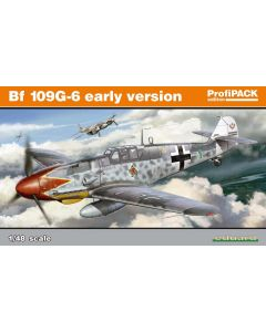 Eduard 82113 Bf109G6 Early Version 'Profi-Pack' 1/48 Scale Plastic Model Kit