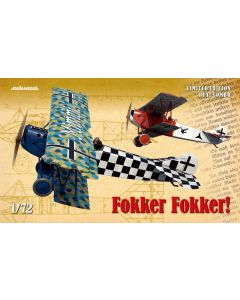 Eduard 2133 Fokker D VII 'Dual Combo' Limited Edition 1/72 Scale Model Kits