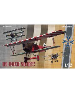 Eduard 2135 Albatros DV Fokker Dr1 & D VII 'Triple Combo' 1/72 Scale Kits