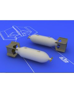 Eduard 648086 Brassin US 250 lb Bombs 1/48 Scale Resin & Photo-Etch