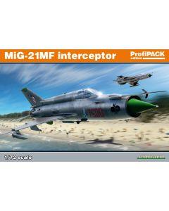 Eduard 70141 Soviet MiG-21MF 'Profi-Pack' 1/72 Scale Plastic Model Kit