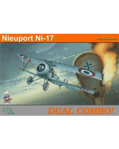Eduard 7071 Nieuport Ni17 'Dual Combo' 1/72 Scale Ltd Edition Plastic Model Kits