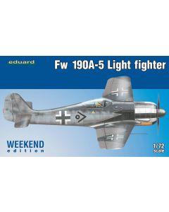 Eduard 7439 Focke-Wulf Fw190A-5 'Weekend Edition' 1/72 Scale Plastic Model Kit