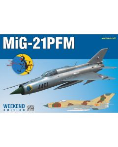 Eduard 7454 Soviet MiG-21-PMF 'Weekend Edition' 1/72 Scale Plastic Model Kit