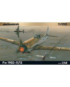 Eduard 8185 Focke-Wulf Fw190D-11/13 'Profi-Pack' 1/48 Scale Plastic Model Kit