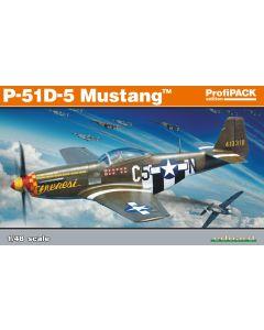Eduard 82101 North American P-51D-5 Mustang 'Profi-Pack' 1/48 Scale Model Kit