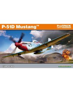 Eduard 82102 P-51D Mustang 'Profi-Pack' 1/48 Scale Plastic Model Kit