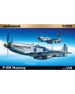 Eduard 82105 P-51K Mustang 'Profi-Pack' 1/48 Scale Plastic Model Kit