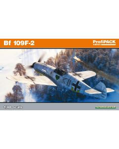 Eduard 82115 Messerschmitt Bf109F-2 'Profi-Pack' 1/48 Scale Plastic Model Kit