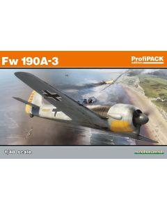 Eduard 82144 Focke-Wulf Fw190A-3 Fighter 'Profi-Pack' 1/48 Scale Model Kit