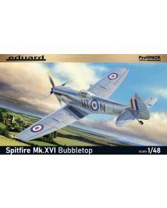 Eduard 8285 Spitfire Mk XVI Bubbletop 'Profi-Pack' 1/48 Scale Plastic Model Kit