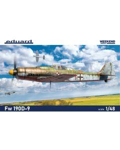 Eduard 84102 Focke-Wulf Fw190D-9 'Weekend Edition' 1/48 Scale Plastic Model Kit