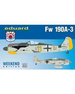 Eduard 84112 Focke-Wulf Fw190A3 'Weekend Edition' 1/48 Scale Plastic Model Kit