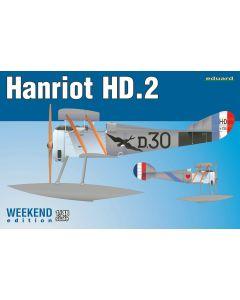 Eduard 8413 Hanriot HD2 Floatplane 'Weekend Edition' 1/48 Scale Model Kit