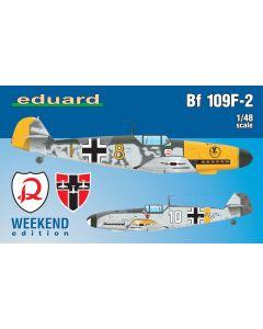 Eduard 84147 Messerschmitt Bf109F-2 'Weekend Edition' 1/48 Scale Model Kit