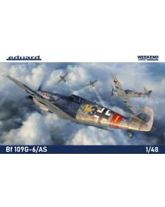 Eduard 84169 Bf109G/AS 'Weekend Edition' 1/48 Scale Plastic Model Kit