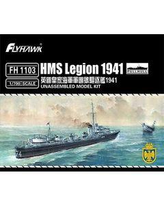 Flyhawk FH1103 British Destroyer Legion 1941 Full Hull Version 1/700 Scale Kit