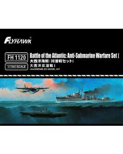 Flyhawk FH1120 Battle of the Atlantic: Anti-Submarine Warfare Set I 1/700 Scale
