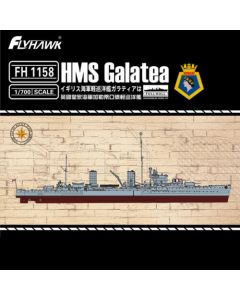 Flyhawk FH1158 British Light Cruiser Galatea Full Hull Version 1/700 Scale Kit