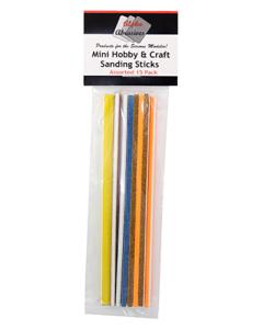 Flex-I-File 101 Mini Hobby & Craft Sticks 15-Pack