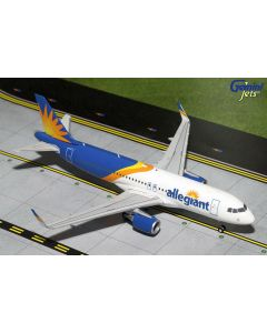 GeminiJets 2AAY664 Allegiant Airbus A320S New Livery 1/200 Scale Diecast Model
